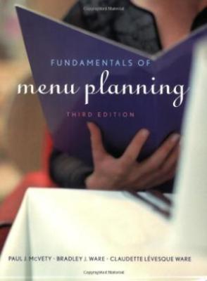 Fundamentals Of Menu Planning 3Ed (Pb 2009)