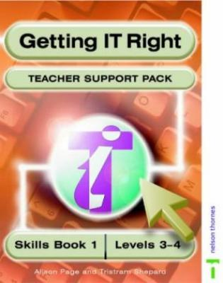 Getting It Right: Teacher Support Pack Skills Book 1 Levels 3-4