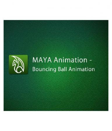 Maya Animation - Bouncing Ball Animation
