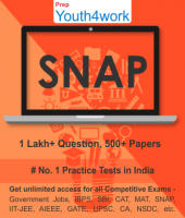 SNAP Best Online Practice Tests Prep - Unlimited Access - 500+ Topic Wise Tests For All  Competitive