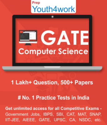 GATE Computer Science Best Online Practice Tests Prep - Unlimited Access - 500+ Topic Wise Tests For