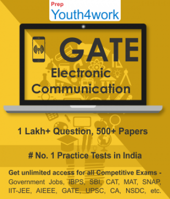 GATE Electronics And Communication Best Online Practice Tests Prep - Unlimited Access - 500+ Topic W