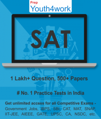 SAT Best Online Practice Tests Prep - Unlimited Access - 500+ Topic Wise Tests For All  Competitive