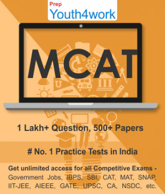 MCAT Best Online Practice Tests Prep - Unlimited Access - 500+ Topic Wise Tests For All  Competitive