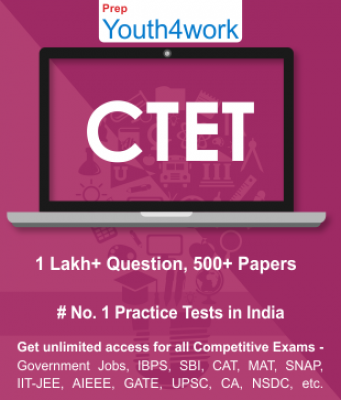 CTET Best Online Practice Tests Prep - Unlimited Access - 500+ Topic Wise Tests For All  Competitive