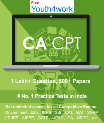 CPT - Common Proficiency Test Best Online Practice Tests Prep - Unlimited Access - 500+ Topic Wise T
