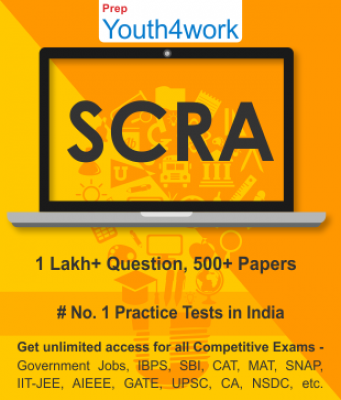 SCRA Best Online Practice Tests Prep - Unlimited Access - 500+ Topic Wise Tests For All  Competitive