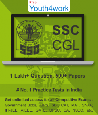 SSC CGL Best Online Practice Tests Prep - Unlimited Access - 500+ Topic Wise Tests For All  Competit