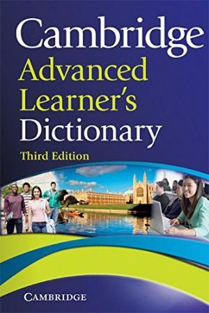 Cambridge Advanced Learners Dictionary 3rd Edition
