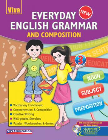 Everyday English Grammar and Composition-3 With CD