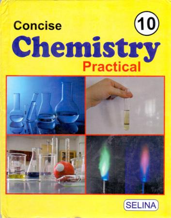 ICSE Concise Chemistry Practical Lab Manual - 9