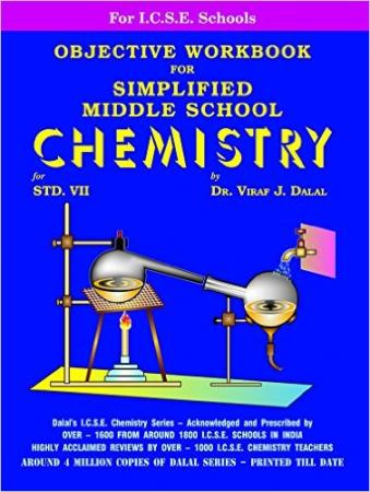 ICSE Simplified Middle School Chemistry Objective WorkBook -  7