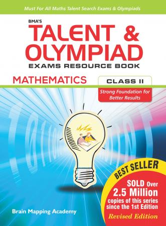 BMAs Talent & Olympiad Exams Resource Book for class-2 (Maths)