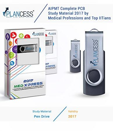 Plancess NEET/AIPMT Physics Video Lectures (USB) and Study Material (Print) Designed by Qualified Medical Professionals and Top IITians - 2017