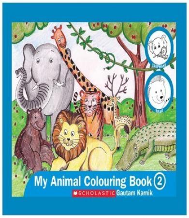 Animal Colouring Book 2
