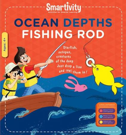 Smartivity Ocean Depths Fishing Rod S.T.E.M. Educational D.I.Y. Toy